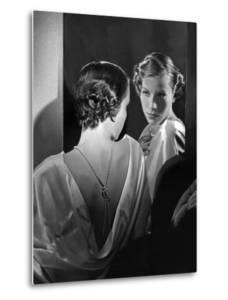 Short Hairstyle, 1935 by Scherl Süddeutsche Zeitung Photo