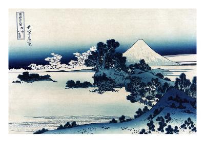 Schichiri Beach in Sagami Province-Katsushika Hokusai-Art Print