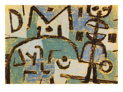 Schicksal Eines Kindes, 1937-Paul Klee-Giclee Print