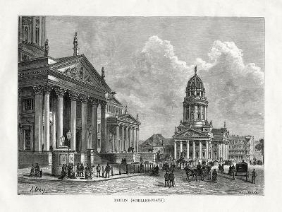 Schiller Platz, Berlin, Germany, 1879-A Deroy-Giclee Print