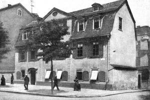 Schiller's House, German Athens, Germany, 1922