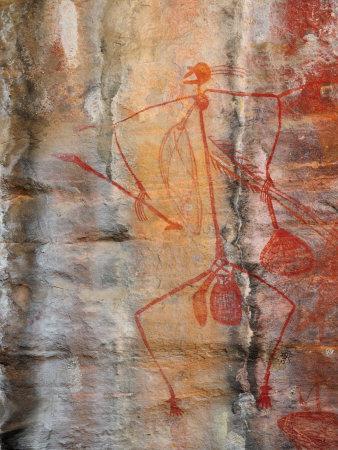 Aboriginal Rock Art, Ubirr, Kakadu National Par, Northern Territory, Australia, Pacific
