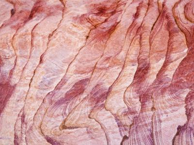 Detail, the Coloured Canyon, Near Nuweiba, Sinai, Egypt, North Africa, Africa by Schlenker Jochen