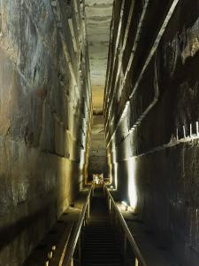 Grand Gallery Inside the Great Pyramid of Khufu, Giza, Egypt by Schlenker Jochen