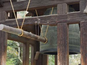 Great Bell of Todai-Ji, Nara, Kansai, Honshu, Japan by Schlenker Jochen