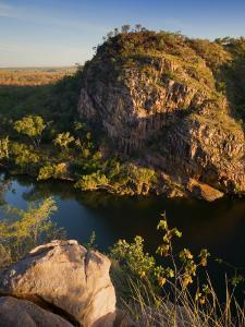 Katherine Gorge and Katherine River, Nitmiluk National Park, Northern Territory, Australia, Pacific by Schlenker Jochen