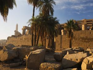 Temple of Amun at Karnak, Thebes, UNESCO World Heritage Site, Egypt, North Africa, Africa by Schlenker Jochen