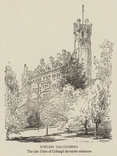 Schloss Callenberg--Giclee Print