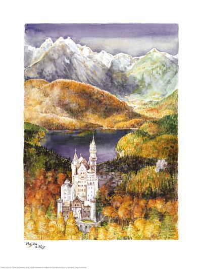 Schloss Neusch-Mylene De Kleijn-Art Print