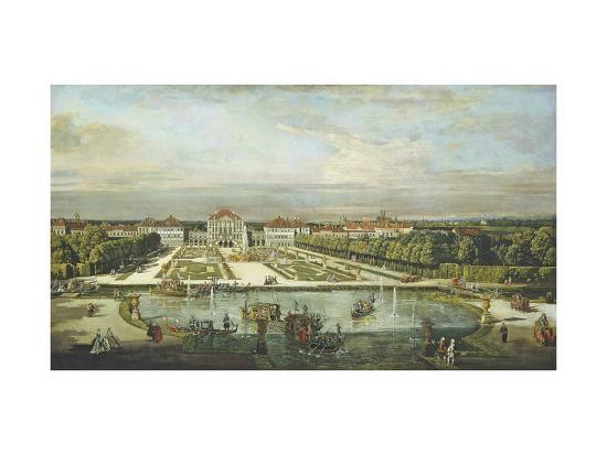 Schloss Nymphenburg, 1761-Bernardo Bellotto-Giclee Print