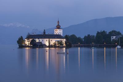 Schloss Orth, Traunsee, Gmunden, Salzkammergut, Upper Austria, Austria-Gerhard Wild-Photographic Print