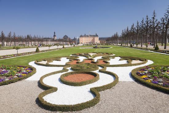 Schloss Schwetzingen Palace, Baroque Garden, Schwetzingen, Baden-Wurttemberg, Germany, Europe-Markus Lange-Photographic Print
