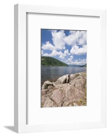 Schluchsee, Black Forest, Baden-Wurttemberg, Germany-Markus Lange-Framed Photographic Print