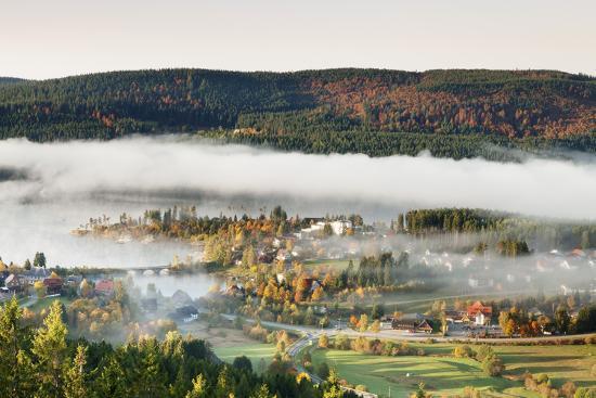 Schluchsee, Black Forest, Baden-Wurttemberg, Germany-Markus Lange-Photographic Print