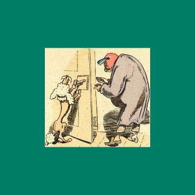 Schnaken and Schnurren-Wilhelm Busch-Giclee Print