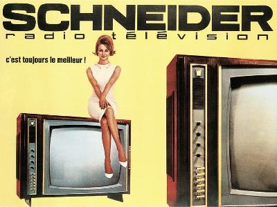 Schneider Televisions--Art Print
