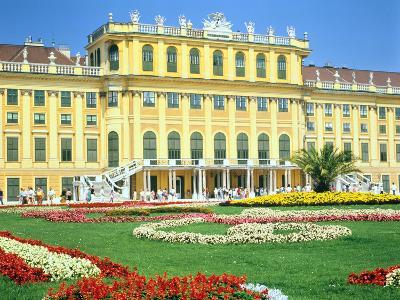 Schonbrunn Imperial Palace, Vienna, Austria-Peter Thompson-Photographic Print