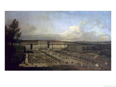 Schonbrunn Palace and Gardens, 1759/61-Bernardo Bellotto-Giclee Print