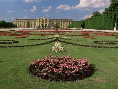 Schonbrunn Palace and Gardens, Unesco World Heritage Site, Vienna, Austria-Gavin Hellier-Photographic Print