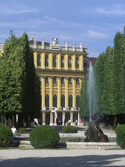 Schonbrunn Palace, Vienna, Austria-Jon Arnold-Photographic Print