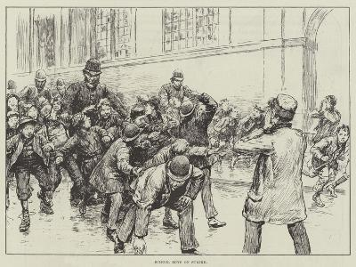 School Boys on Strike--Giclee Print