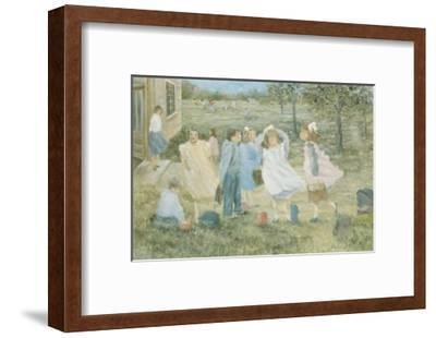 School Day-Hélène Léveillée-Framed Art Print
