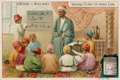 School in the Arabic World--Giclee Print