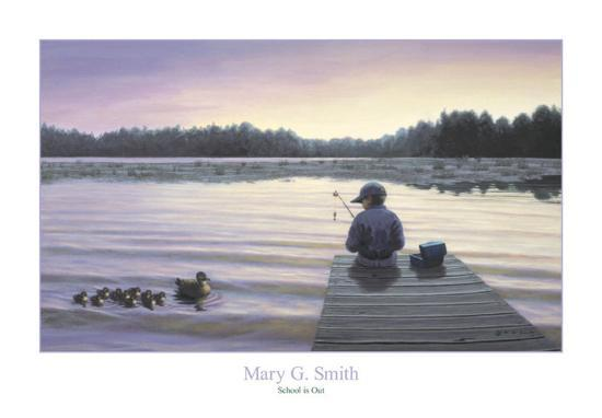 School is Out-Mary G^ Smith-Art Print