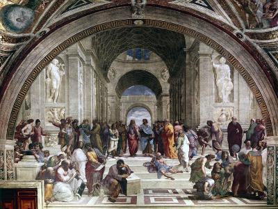 School of Athens, C1510-Raphael-Giclee Print