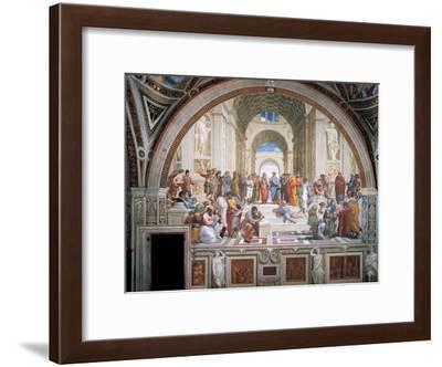 School of Athens-Raphael-Framed Art Print