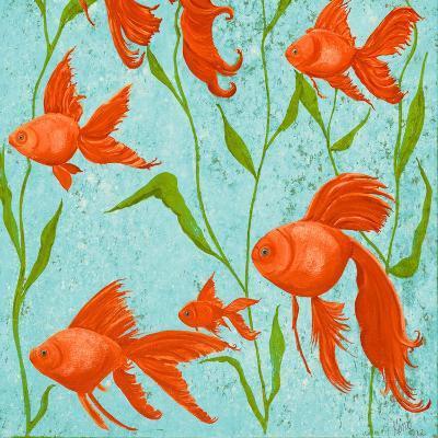 School of Fish II-Gina Ritter-Premium Giclee Print