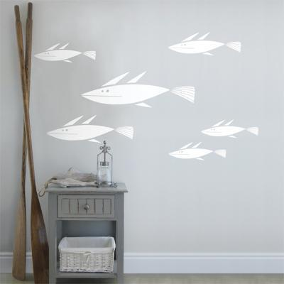 School of Fish Wall Decal--Wall Decal