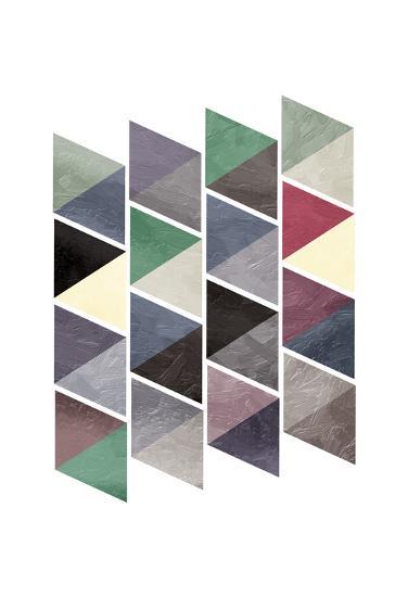 School Of Mud Triangles-OnRei-Art Print