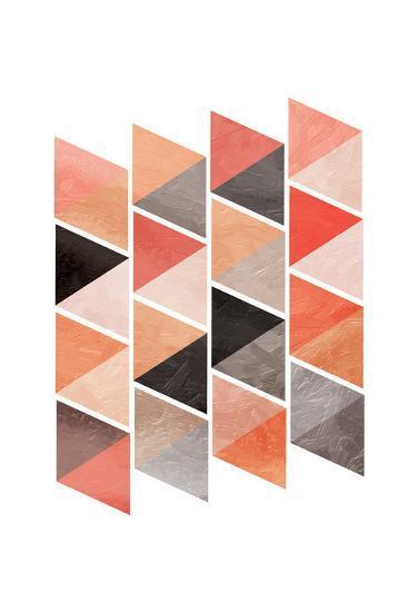 School Of Rose Triangles-OnRei-Art Print