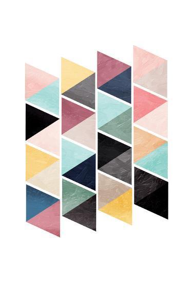 School Of Triangles-OnRei-Art Print