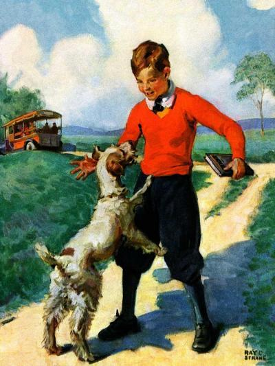 """""""School's Out,""""June 1, 1930-Ray C. Strang-Giclee Print"""