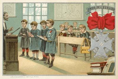 Schoolboy's Cross--Giclee Print