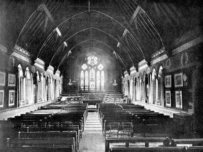 Schoolroom, Uppingham, Rutland, 1924-1926-Valentine & Sons-Giclee Print