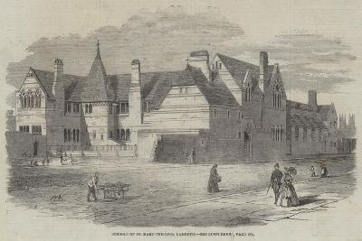 Schools of St Mary-The-Less, Lambeth--Giclee Print