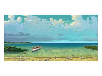 Schooner Island-Rick Novak-Art Print