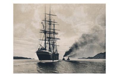Schooner & Tug Boats--Art Print