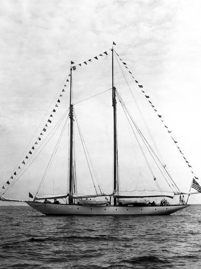 Schooner Yacht, Mariette-Edwin Levick-Photographic Print