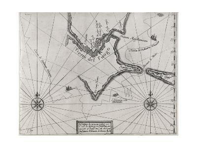 Schouten Rounding Cape Horn, 1616-Middle Temple Library-Giclee Print