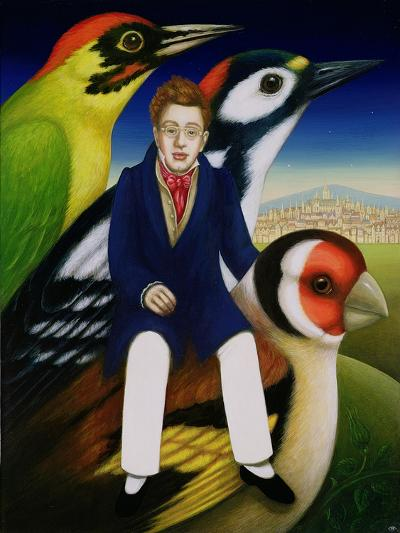 Schubert and the Language of Birds, 2000-Frances Broomfield-Giclee Print