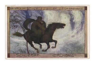 Schubert's 'Erlkonig' (Goethe)--Giclee Print