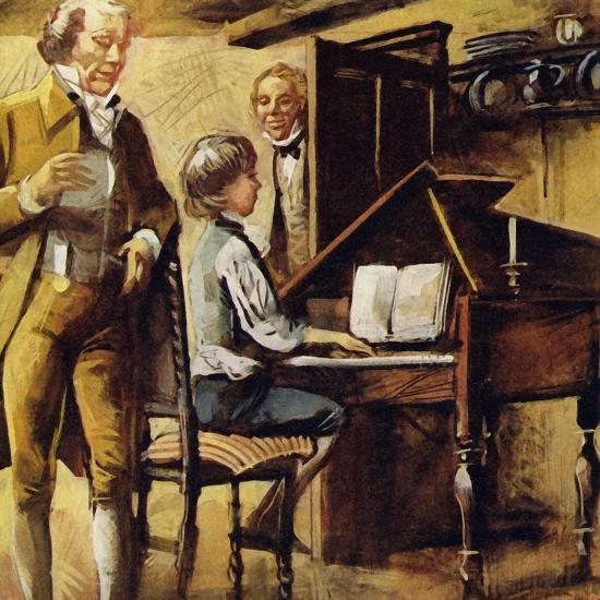 Schubert Was Born in Vienna in 1797--Giclee Print
