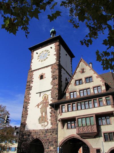 Schwabentor, Old Town, Freiburg, Baden-Wurttemberg, Germany, Europe-Hans Peter Merten-Photographic Print