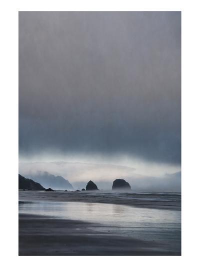 Schwartz - Sea Stacks at Sunset-Don Schwartz-Art Print