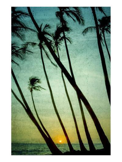 Schwartz - Tilting Palms-Don Schwartz-Art Print