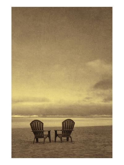 Schwartz - Two Beach Chairs-Don Schwartz-Premium Giclee Print